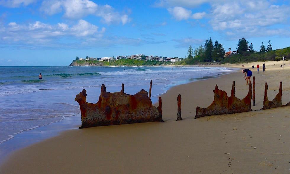 Strand Dicky Beach Queensland Australien