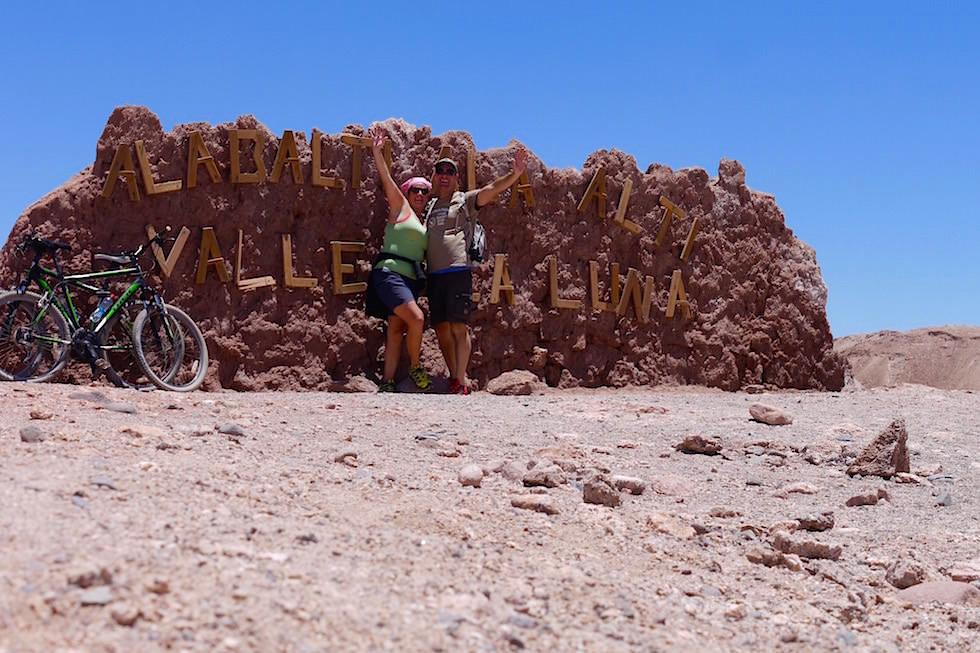 Eingang - Valle del la Luna - San Pedro de Atacama in Chile