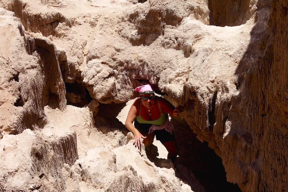 Höhlensystem - Valle del la Luna - San Pedro de Atacama in Chile