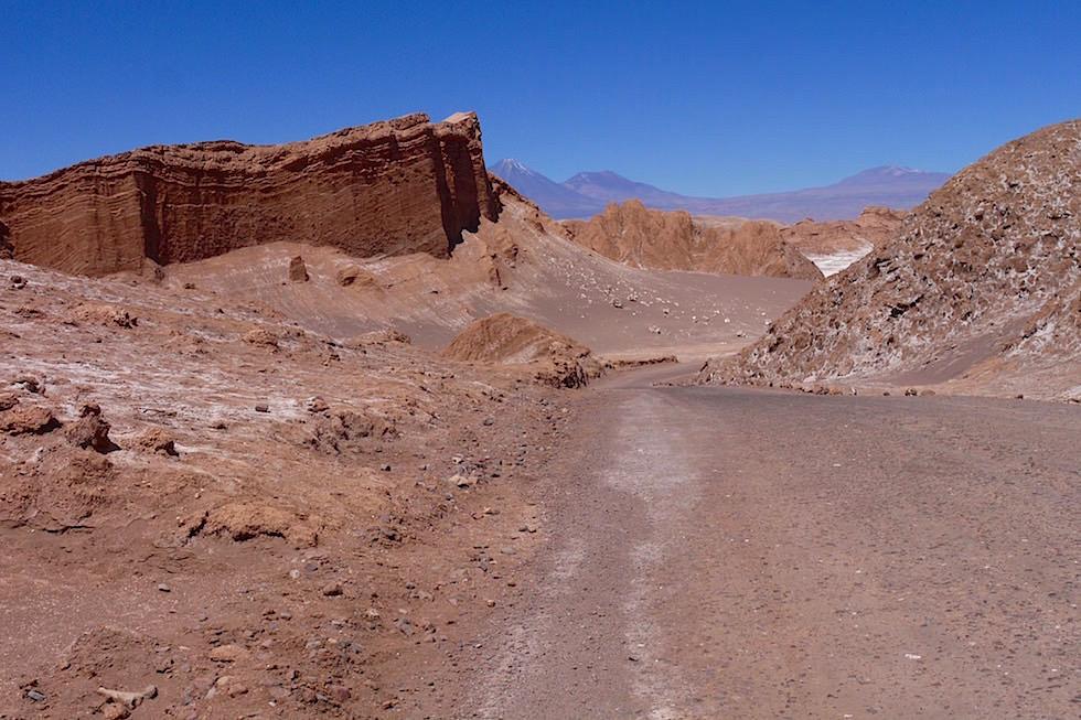 Blick ins Valle del la Luna - San Pedro de Atacama