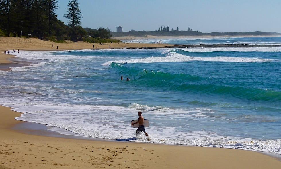 Strand Moffat Beach Queensland Australien
