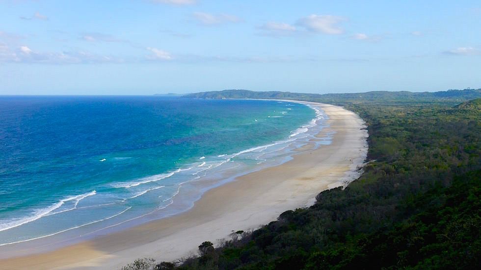 Blick Leuchtturm Bayron Bay New South Wales