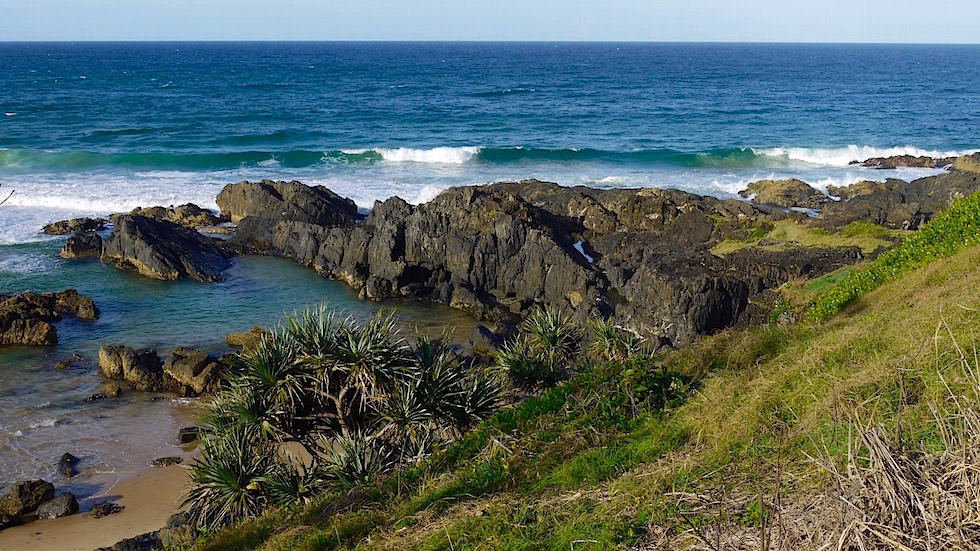 Blick vom Boambee Head Lookout - Sawtell New South Wales
