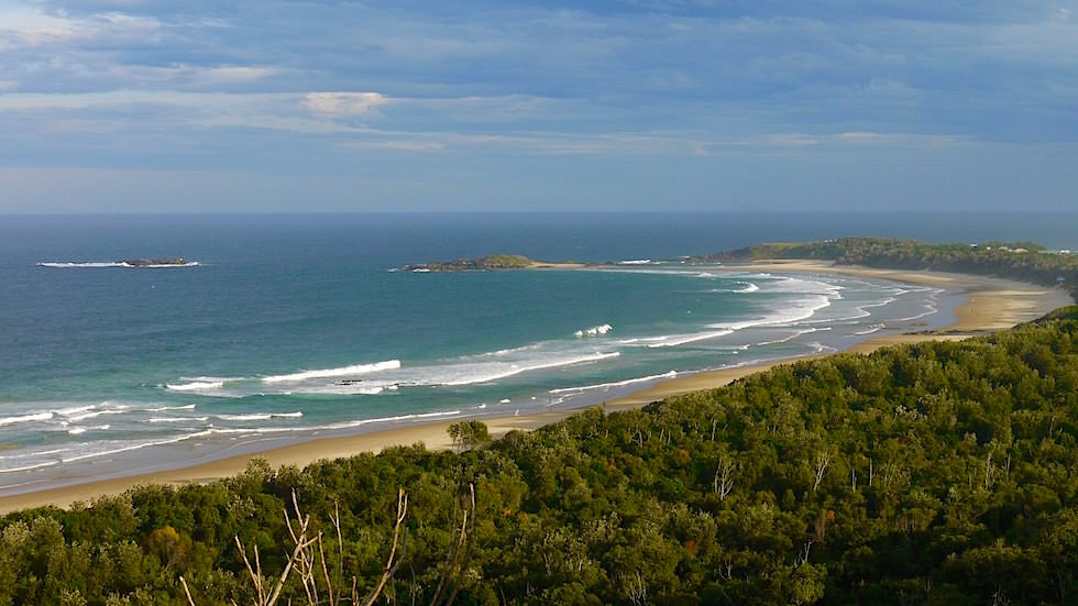 Blick auf Bonville Head - Sawtell New South Wales