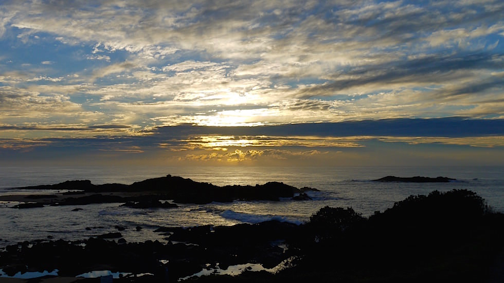 Sonnenuntergang Bonville Head - Sawtell New South Wales