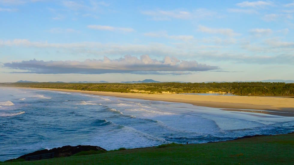 Bonville Head Surf Strand- Sawtell New South Wales