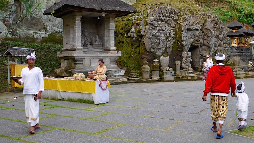 Zeremonie - Goa Gajah - Elefantenhöhle - Bali