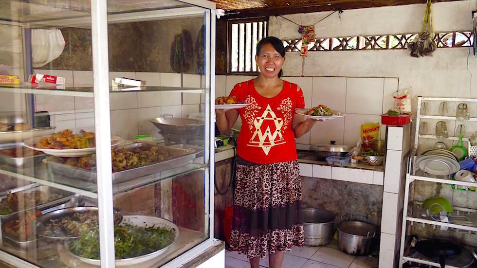 Bali Foto-Essay: Warung Straßenküche - Bali