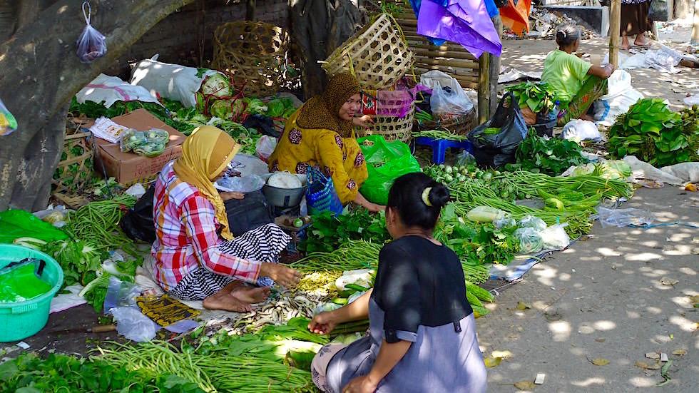 Bali Foto-Essay: Gemüse Straßenverkauf Bali
