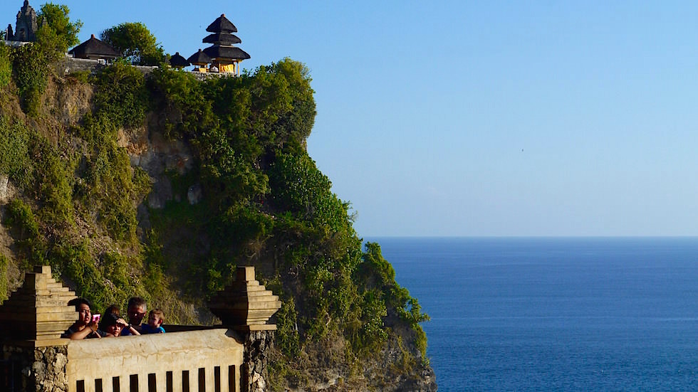 Blick auf Uluwatu Tempel - Bali, Indonesien