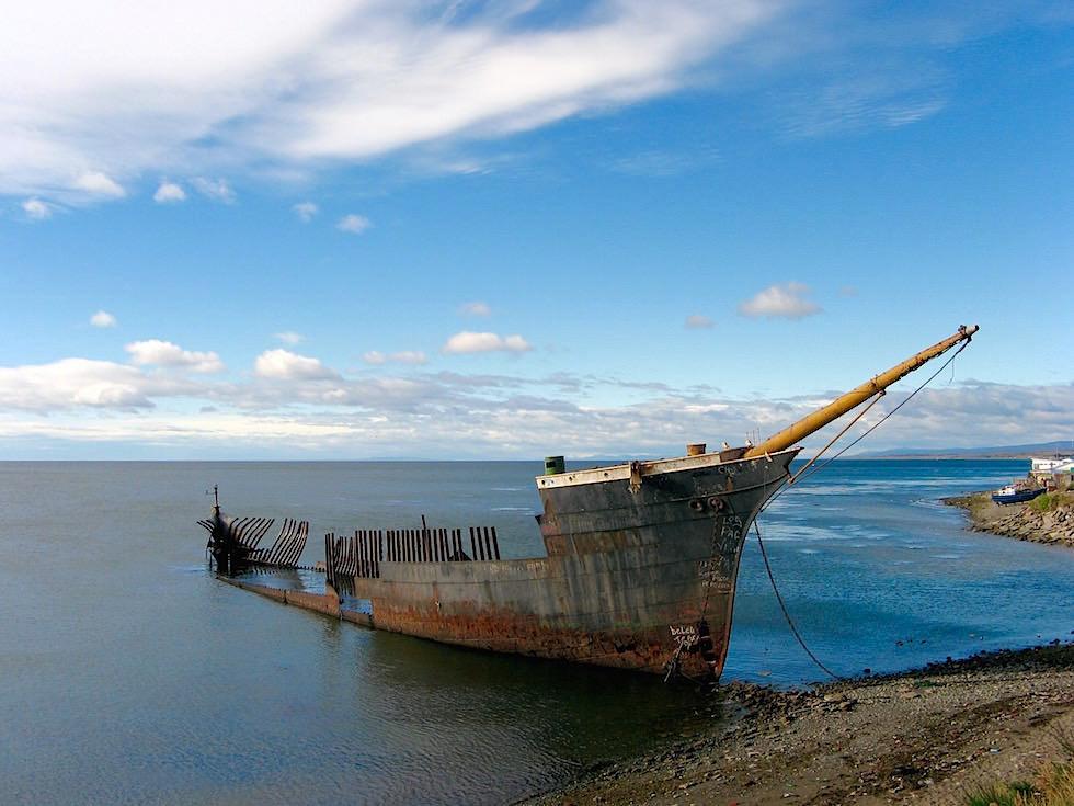 Punta Arenas Schiffswrack an der Magellan Straße - Chile Patagonien