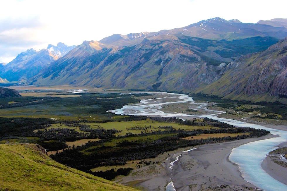 Flußtal bei El Chalten - Patagonien - Argentinien