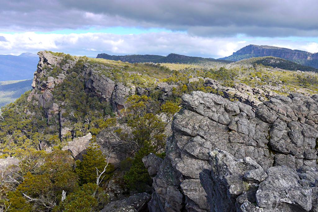 Pinnacle Lookout bietet atemberaubende Ausblicke: einfach vom Feinsten - Grampians Nationalpark - Victoria - Australien