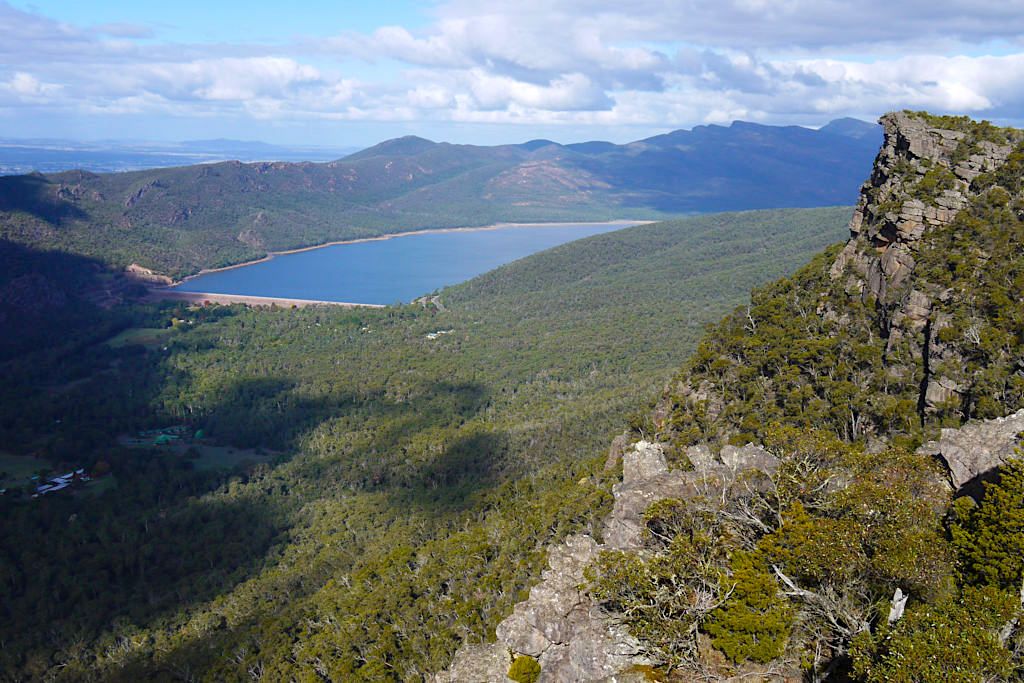 Pinnacle Lookout - Sensationeller Ausblick zum Lake Bellfield - Grampians Nationalpark Highlights - Victoria - Australien