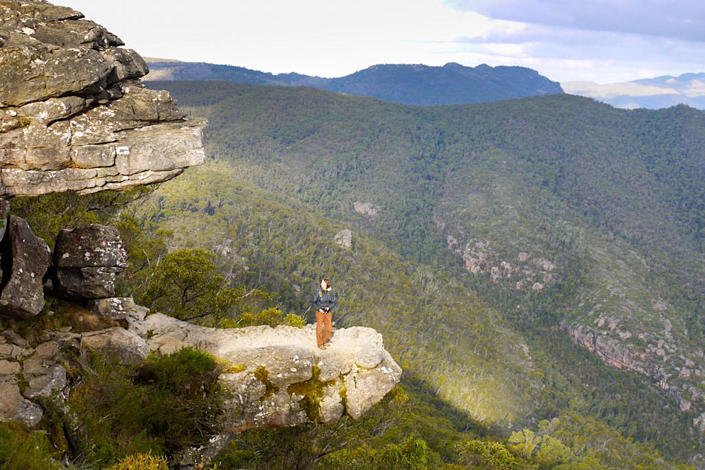 Atemberaubender Ausblick von The Balconies - einem der Grampians Nationalpark Highlights - Victoria - Australien