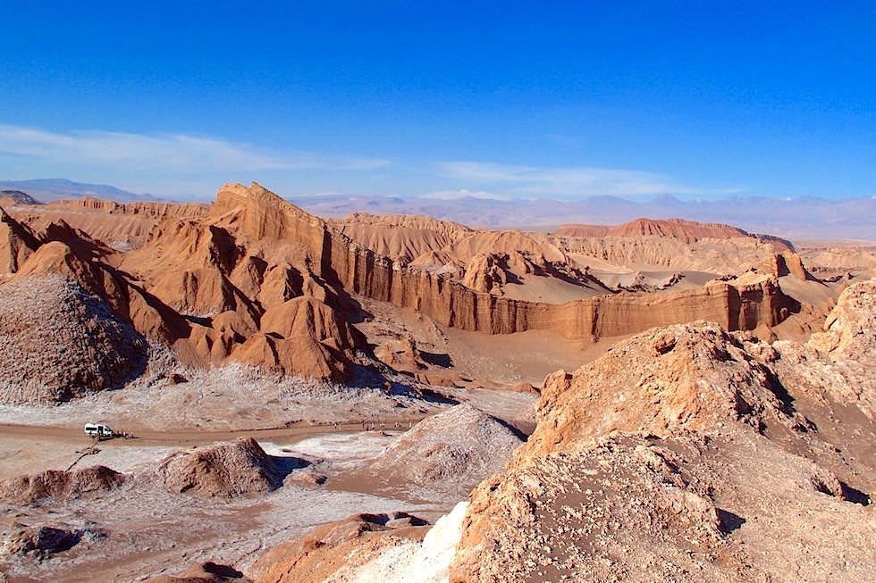 Ausblick - Valle del la Luna - San Pedro de Atacama