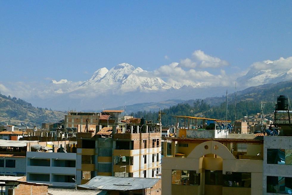 Huaraz - Idealer Ausgangsort in die Bergwelt von Peru