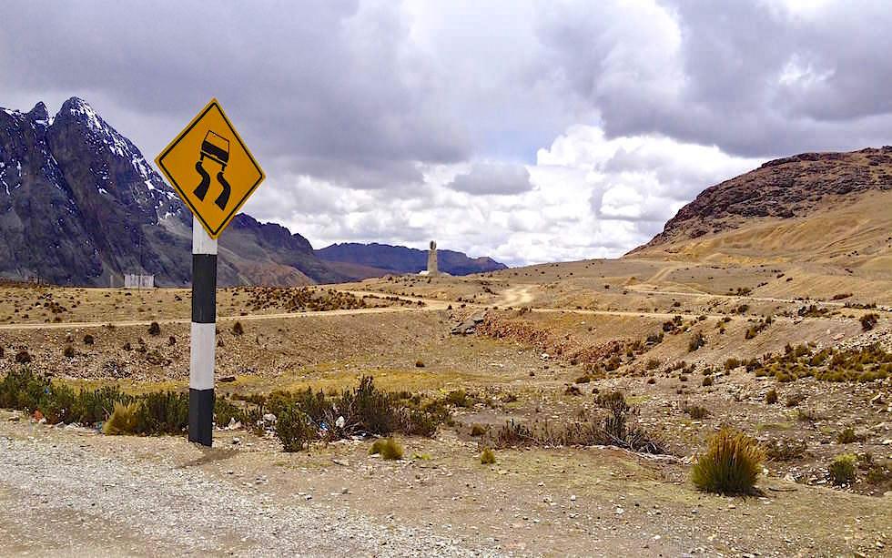 Passhöhe am Abra de Anitcona - Ticlio Pass - San Mateo - Peru