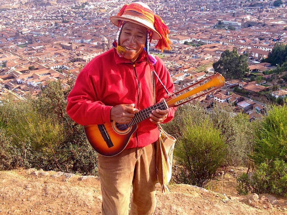 Blick vom Cristo Blanco auf Cusco - Cusco Highlights - Peru