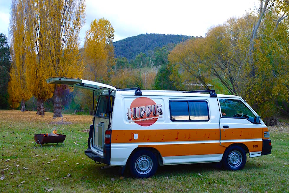 Campground Omeo - Great Alpin Road - Victoria