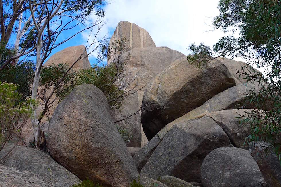 Aufstieg Monolith - Mt Buffalo National Park - Victoria