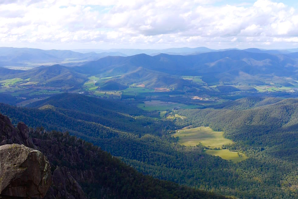 Echo Point Lookout - Mt Buffalo - Victorian Alps - Victoria