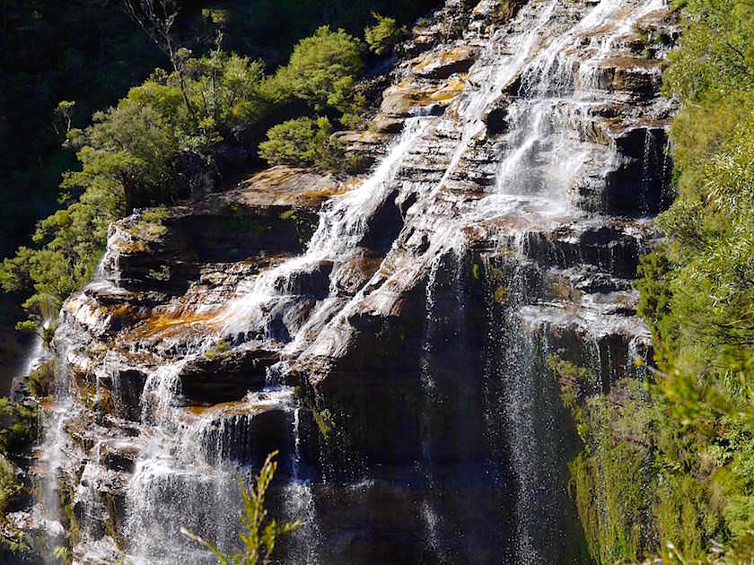 Part of Wentworth Falls - Blue Mountains - NSW