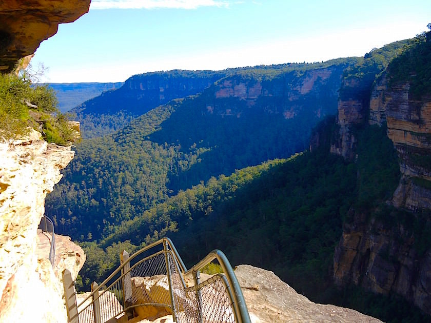 Grand Stairway - Wentworth Falls - Blue Mountains - NSW