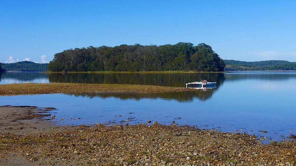 Ausblick auf Smiths Lake - Great Lakes - NSW