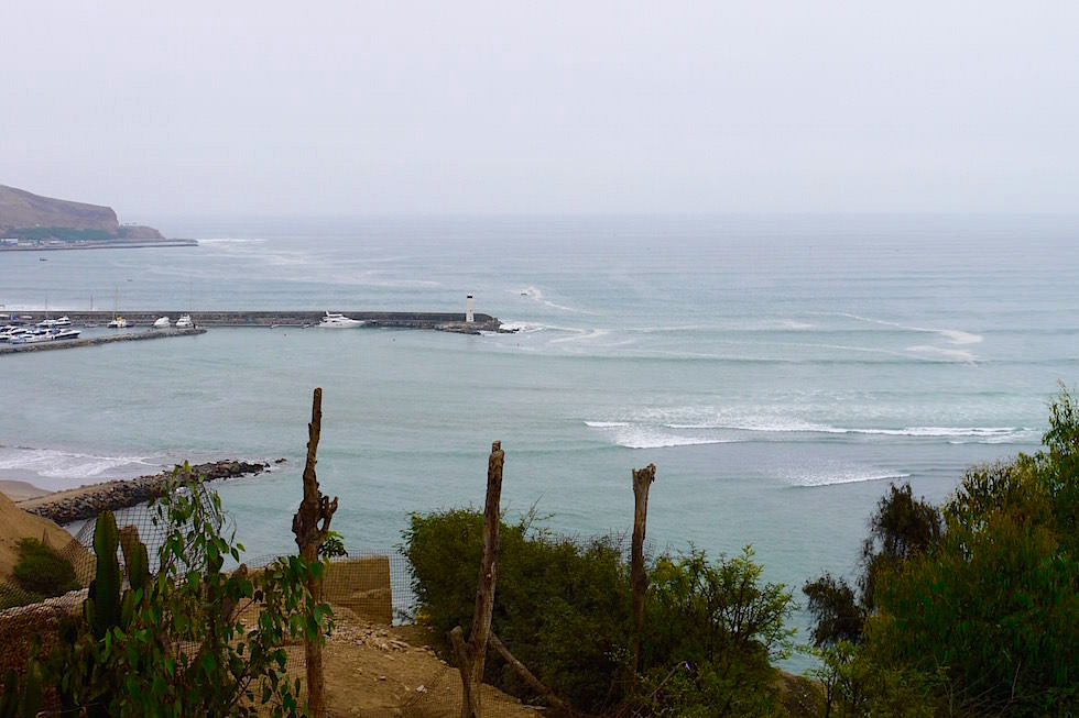Barranco Blick aufs Meer - Lima Peru