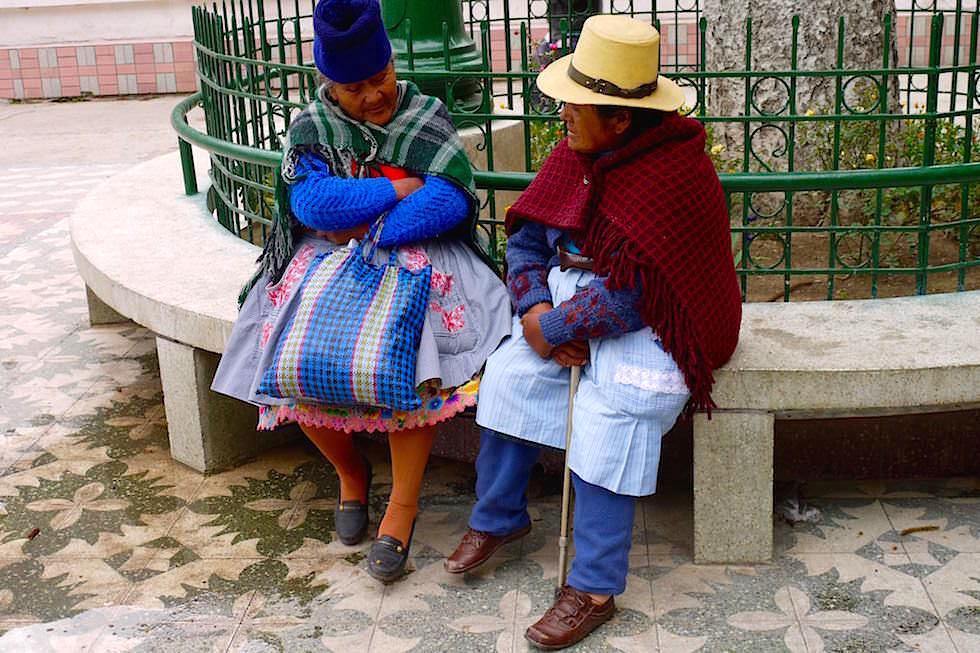 Frauen unterhalten sich - San Mateo - Peru