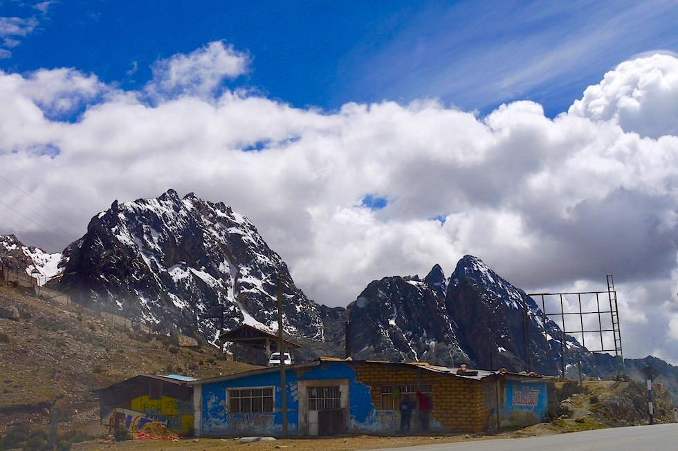 Abra de Anitcona - Ticlio Pass - San Mateo - Peru