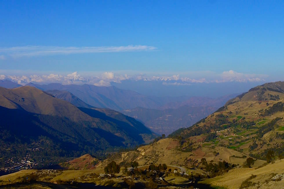 Bergpass bei Ayacucho - Peru