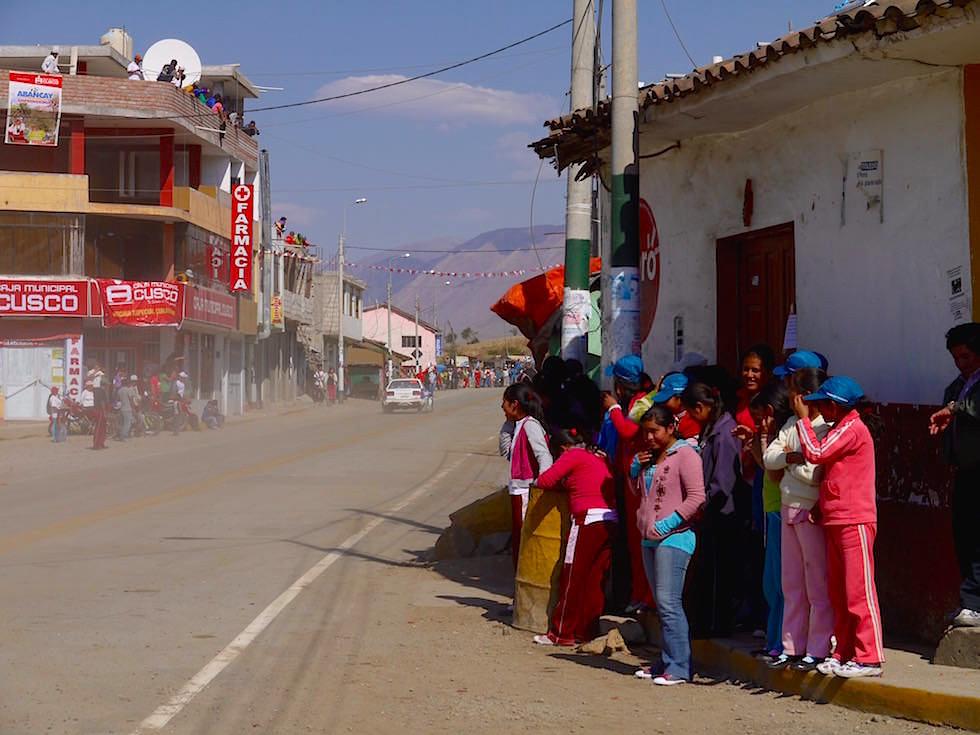 Rally Caminos del Inca Ayacucho nach Cusco - Curahuasi Peru