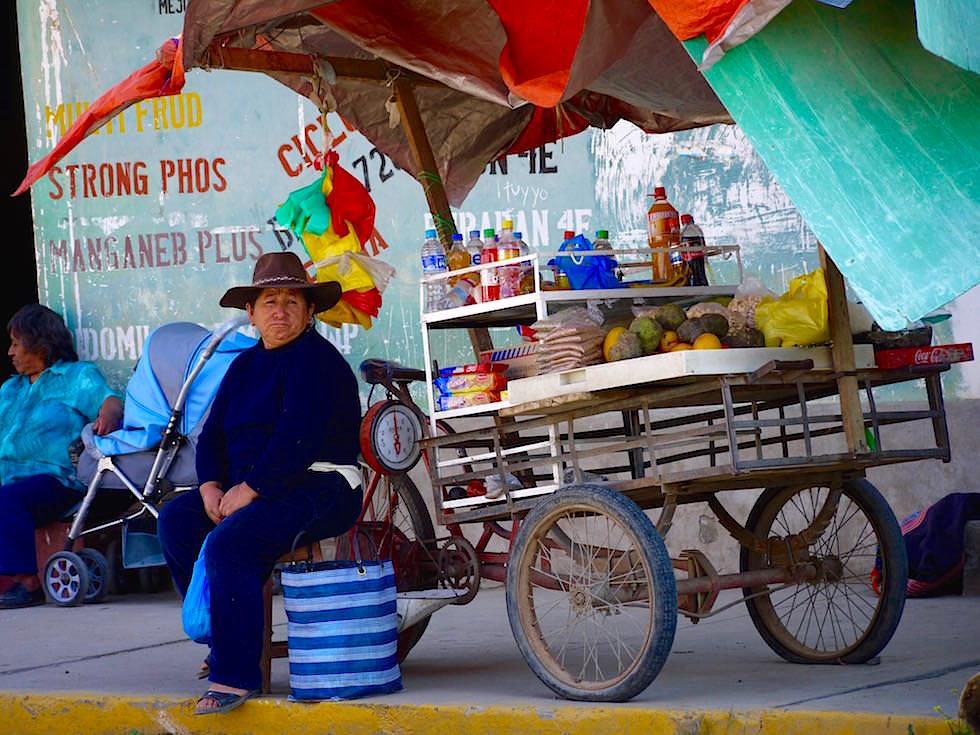Straßenverkauf - Curahuasi Peru