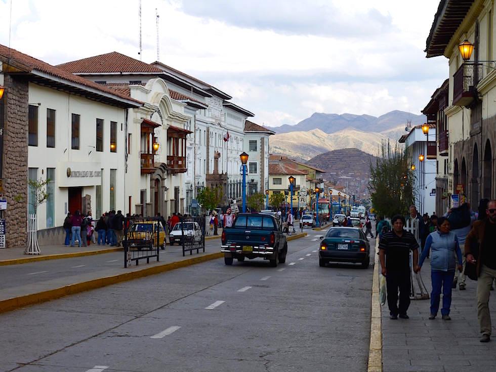 Richtung Süden - Avenue el Sol - Cusco Peru