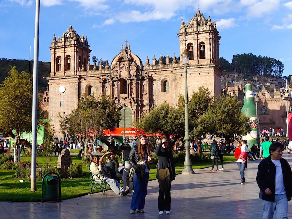 Kathedrale Plaza de Armas Cusco Peru