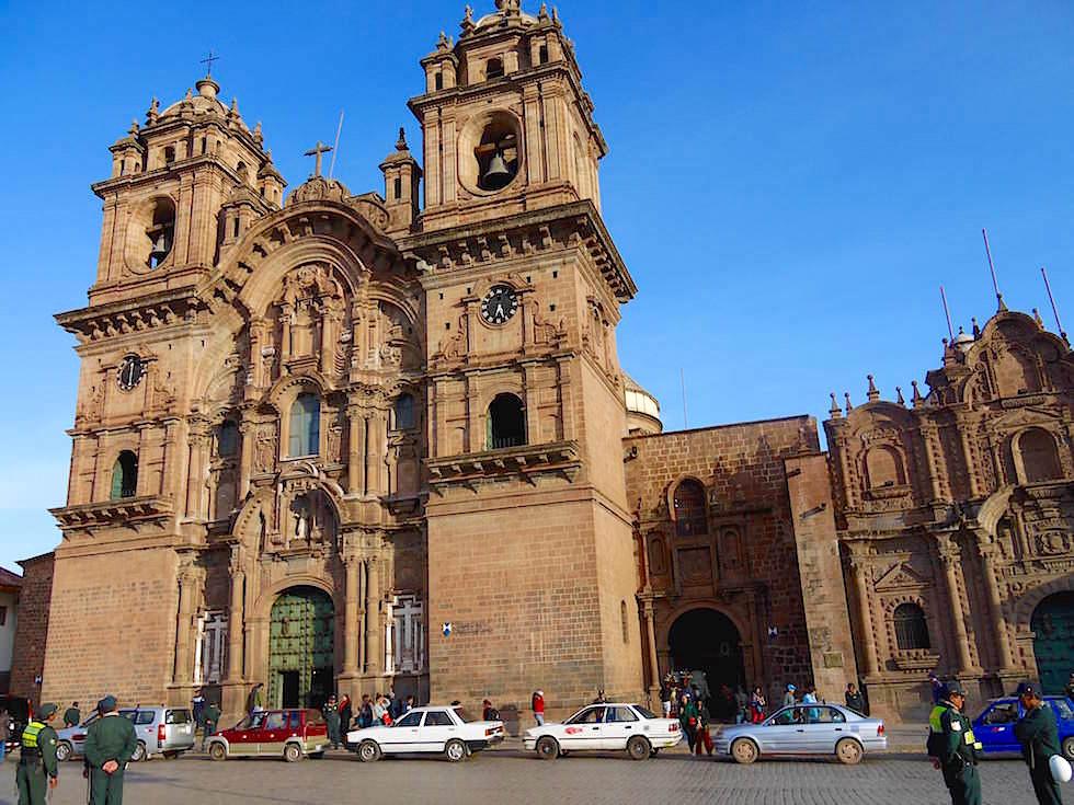 Jesuitenkirche Plaza de Armas Cusco Peru