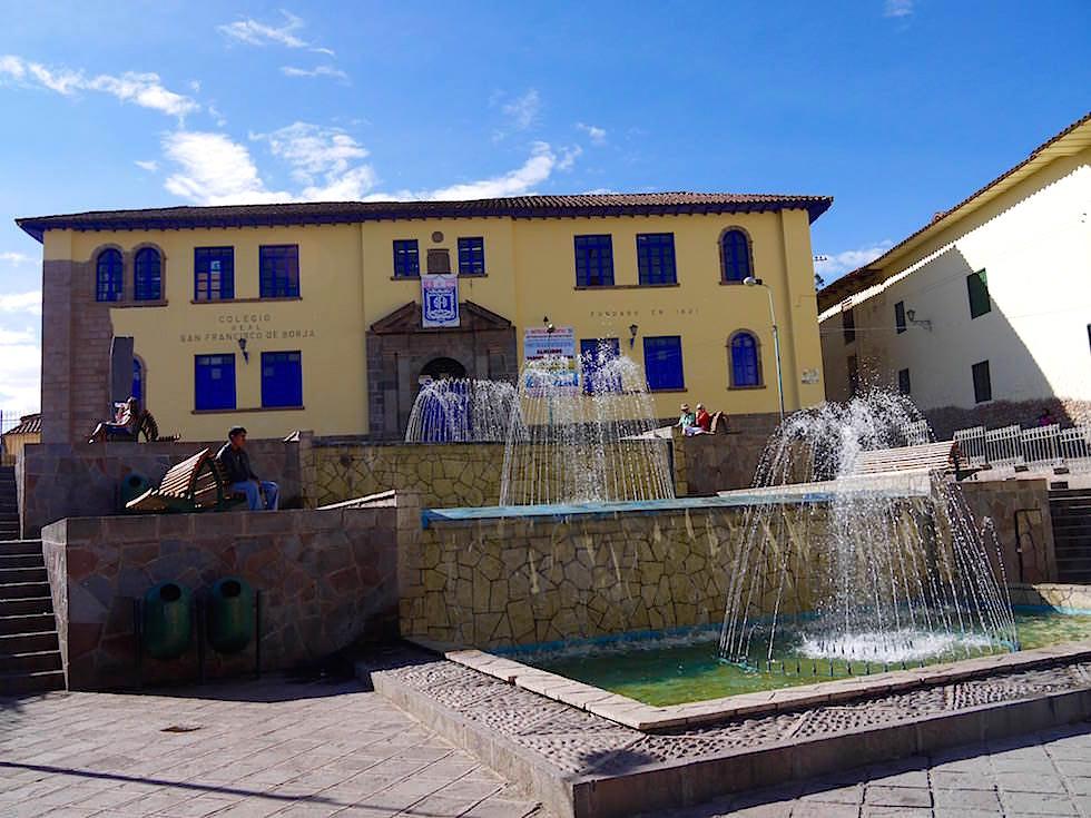 Seitenstraße Plaza de Armas - Cusco - Peru