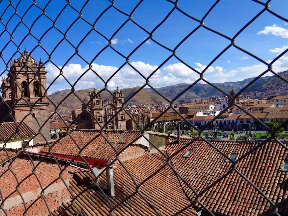 Blick über Dächer von Cusco - Peru