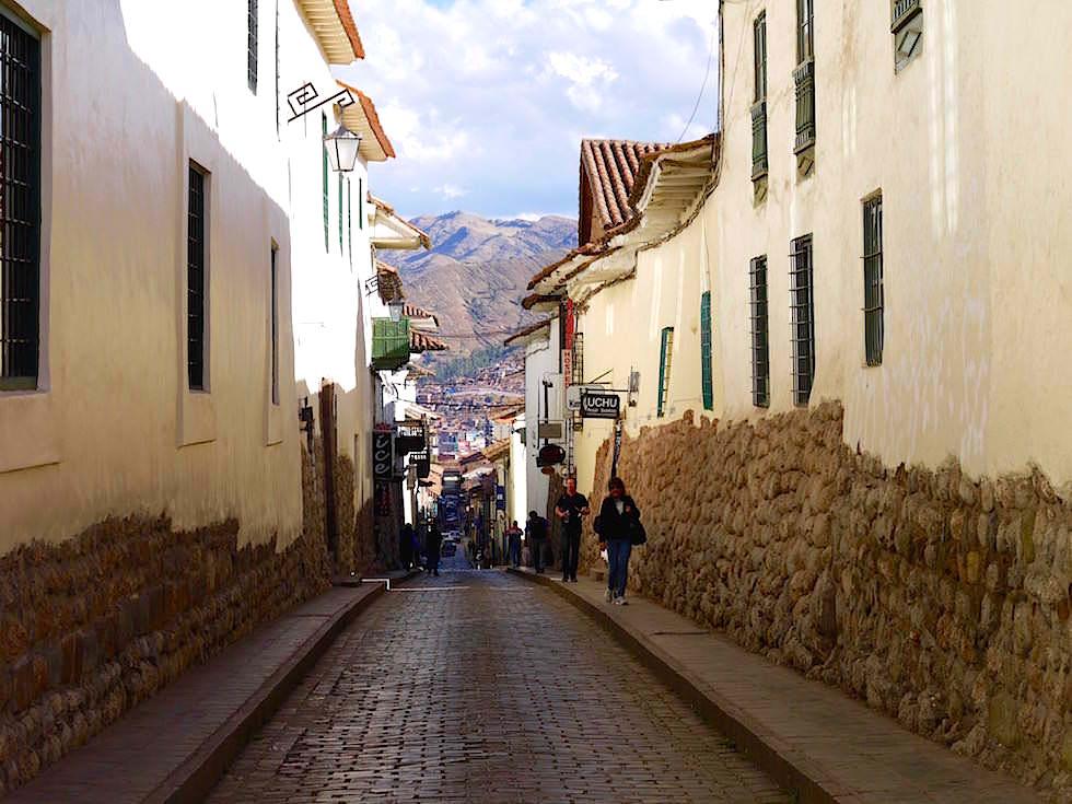 Gassen im Historischen Zentrum - Cusco -Peru