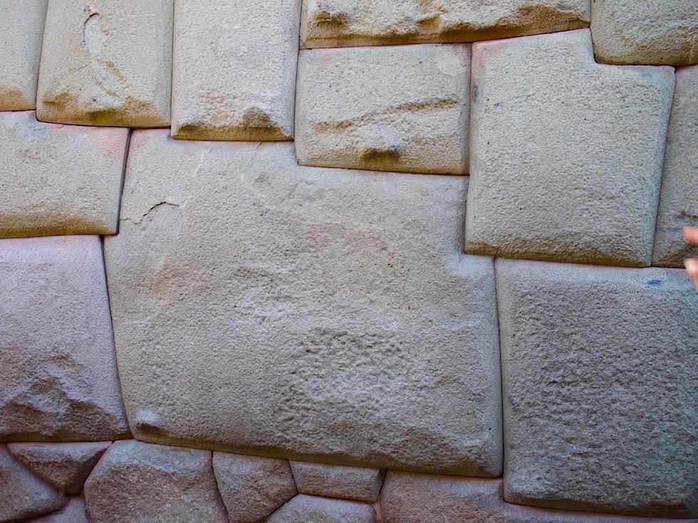 Zwölfeckige Stein - Gasse - Cusco Peru