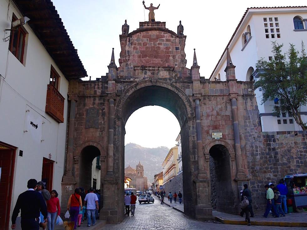 Arco de Santa Clara - Cusco - Peru