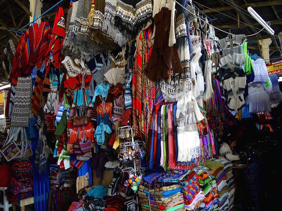 Große Markthalle in Cusco - Peru