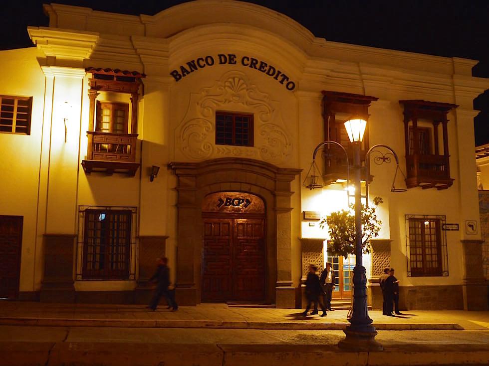 Bankgebäude - Avenida el Sol - Cusco Peru
