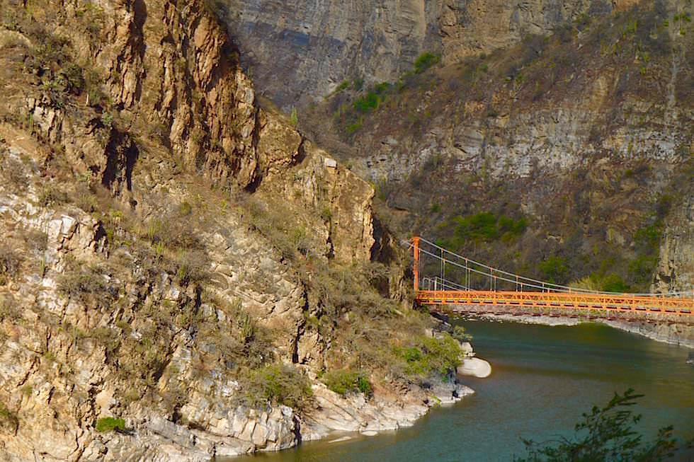 Brücke über den Apurímac an der Grenze Curahuasi - Cusco - Peru
