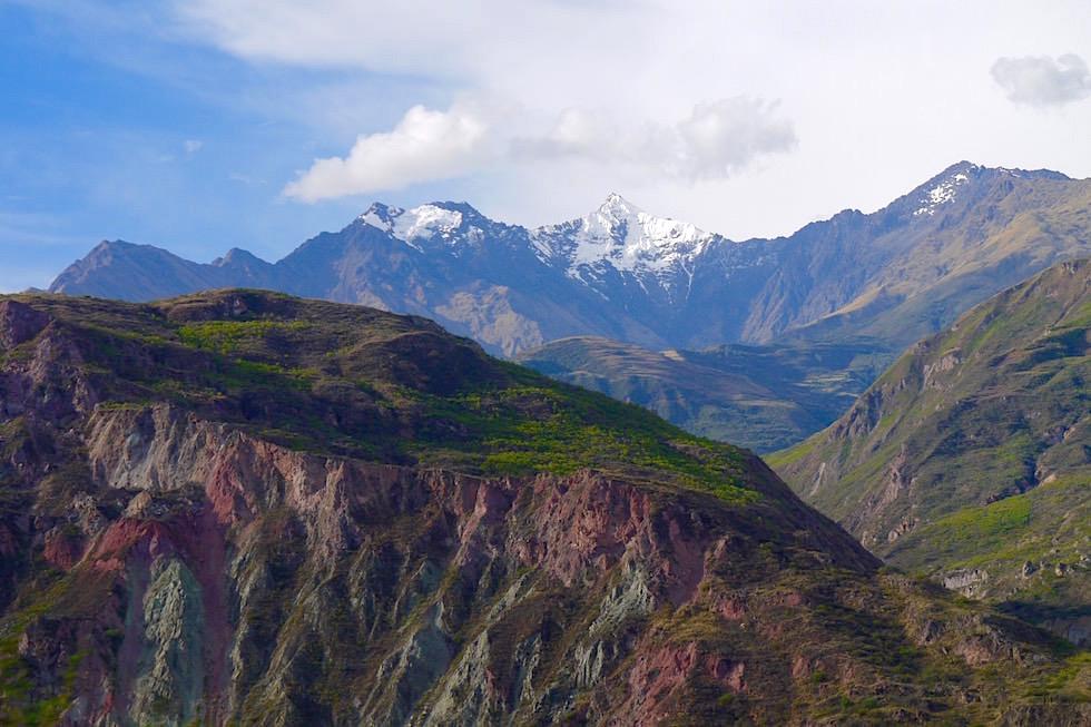 Bergkette zwischen Curahuasi und Cusco - Peru