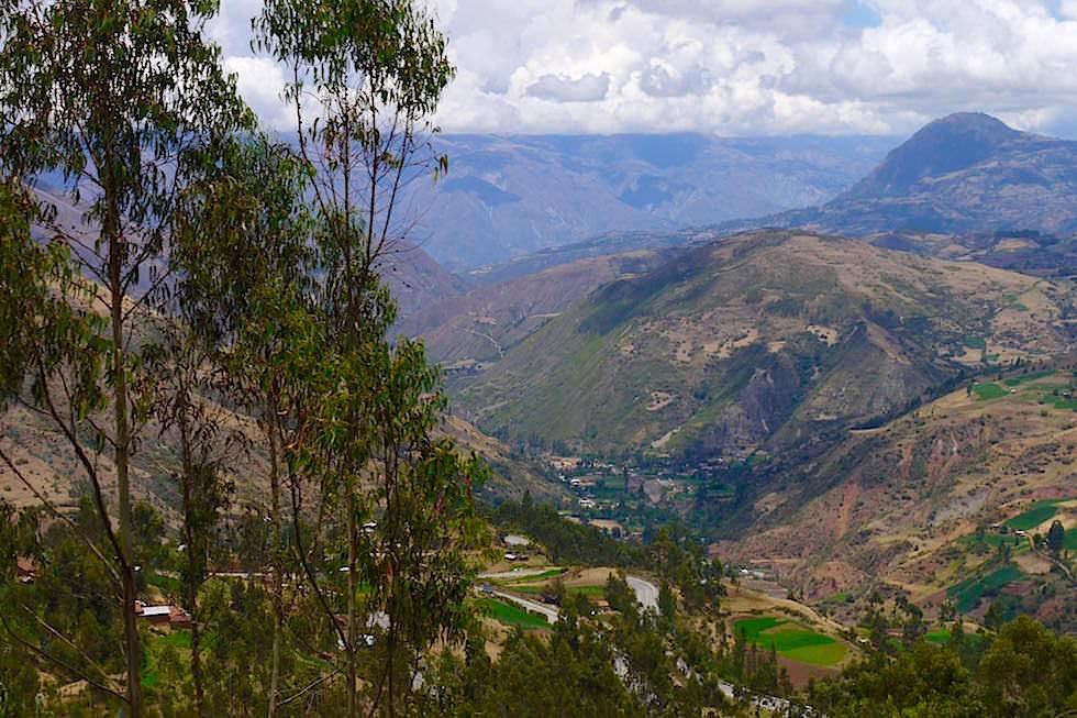 Berge Ackerbau Curahuasi - Cusco - Peru