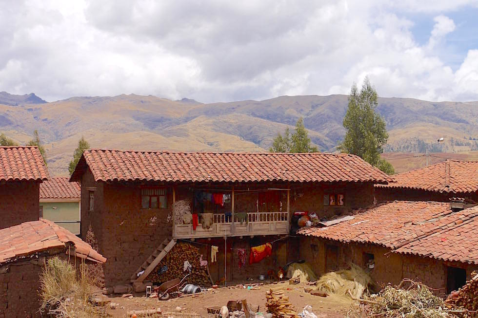 Haus Quechua Indianer Curahuasi - Cusco - Peru