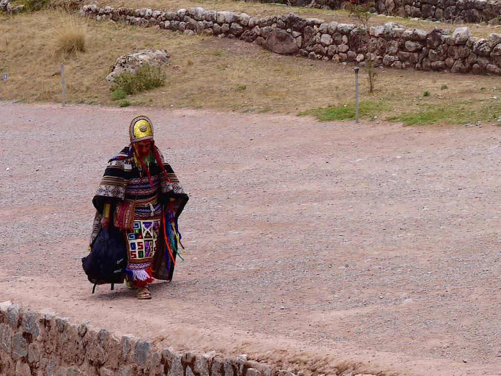 Tambo Machay Darsteller - Cusco Highlights - Peru